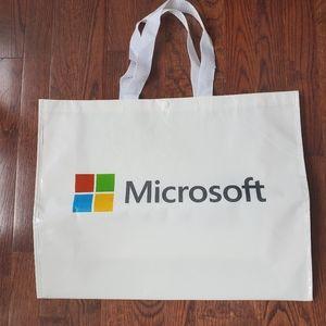 Reusable Microsoft tote